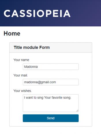 Multi Form Ajax Easy для Joomla
