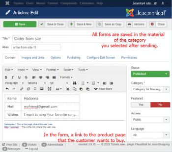 Multi Form Ajax Easy for Joomla - Pro для домена